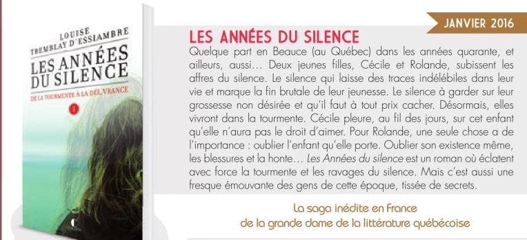 Les années du silence