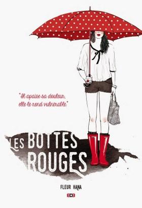 Les Bottes Rouges - Fleur Hana - couv - 130x190 - couv