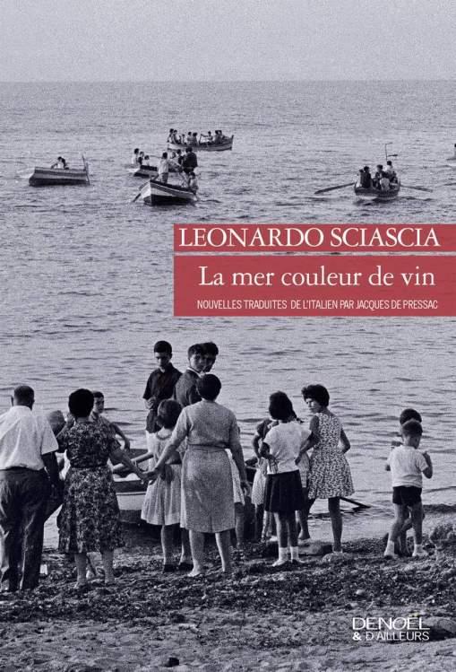 la mer couleur de vin
