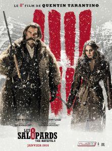 Les 8 salopards : Les affiches françaises du prochain Tarantino